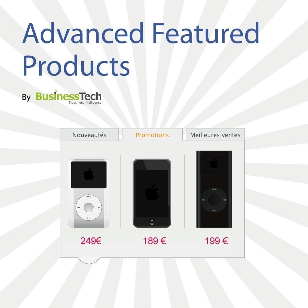 module - Produits en page d'accueil - Advanced Featured Products - 1