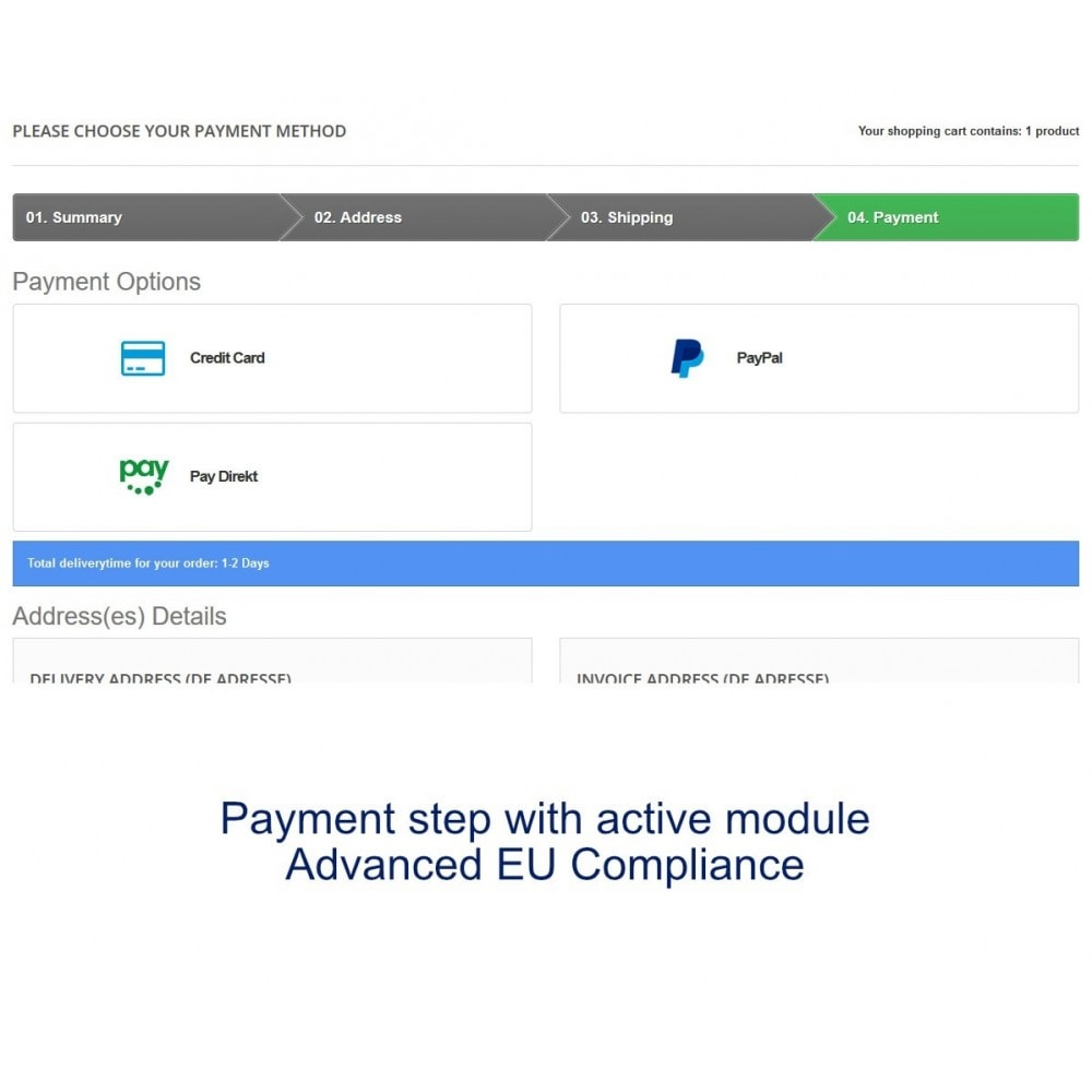 module - Payment by Card or Wallet - Concardis Payengine (start.now, speed.up, flex.pro) - 5