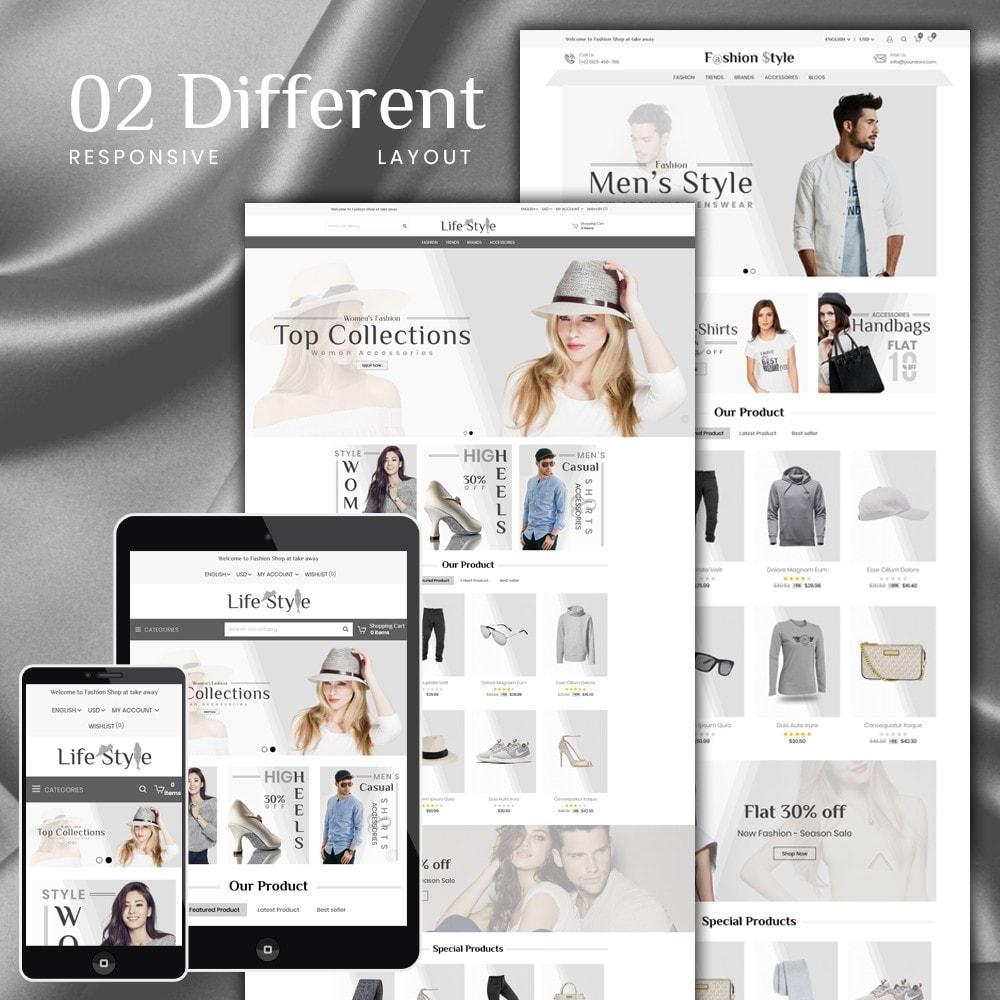 theme - Moda & Obuwie - Life Style Store - 1