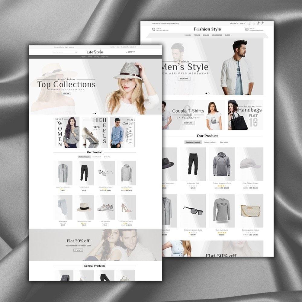 theme - Mode & Chaussures - Life Style Store - 2