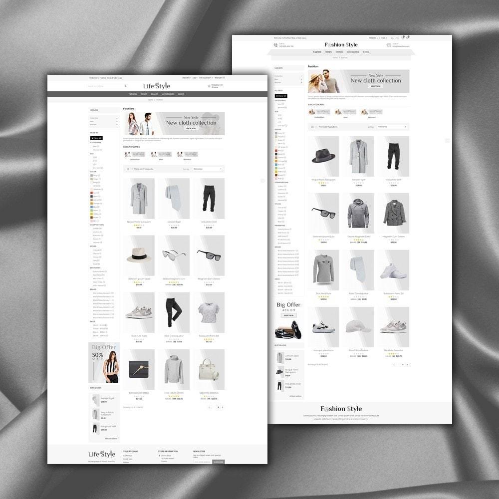 theme - Moda & Obuwie - Life Style Store - 4