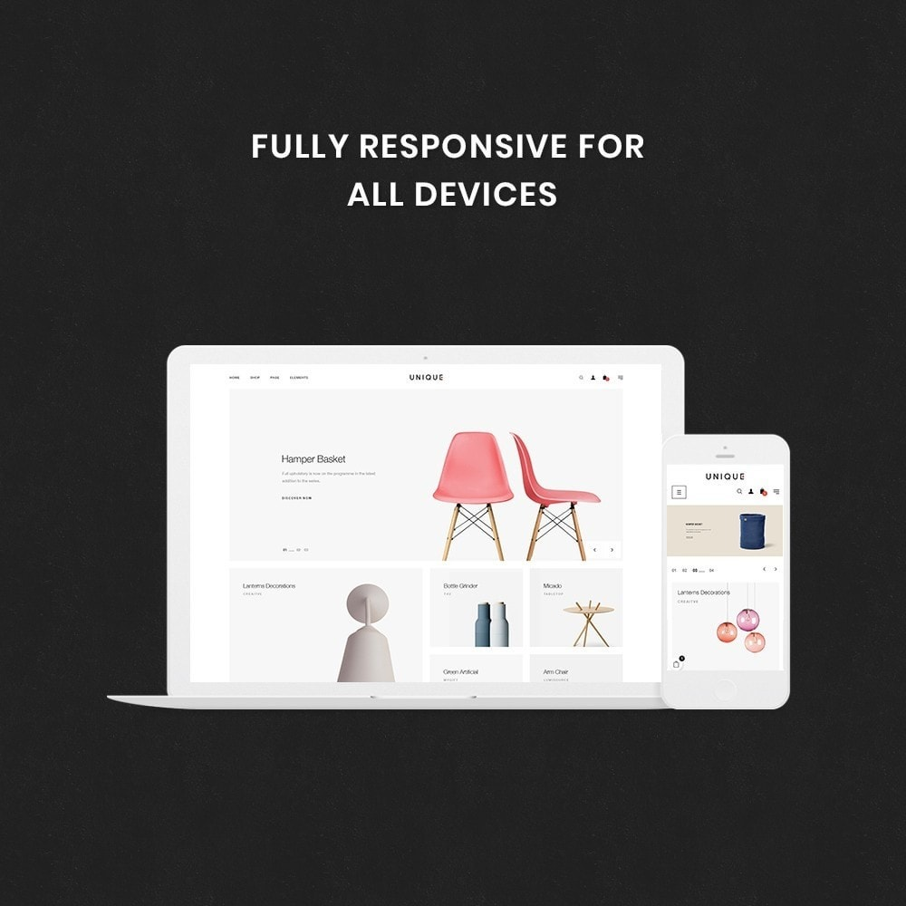 theme - Hogar y Jardín - Unique Store Responsive Multiple Prestashop Theme - 2