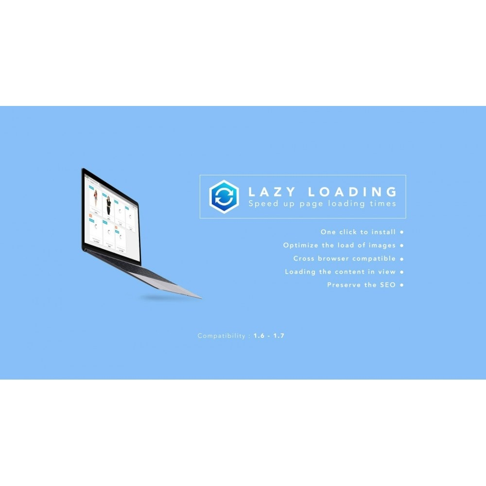 module - Desempenho do Site - Lazy Load / Speed up page loading times - 1