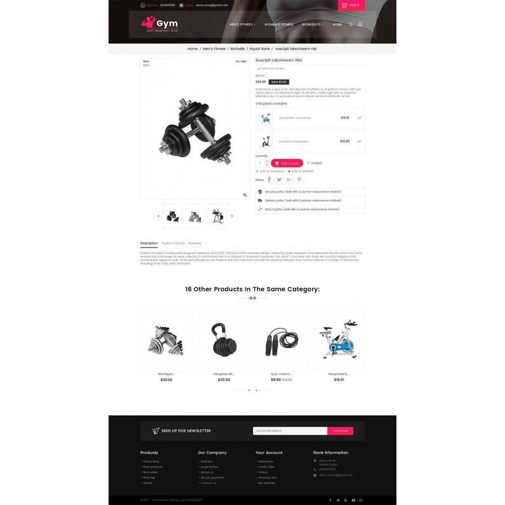 theme - Desporto, Actividades & Viagens - Gym Equipment Store - 5