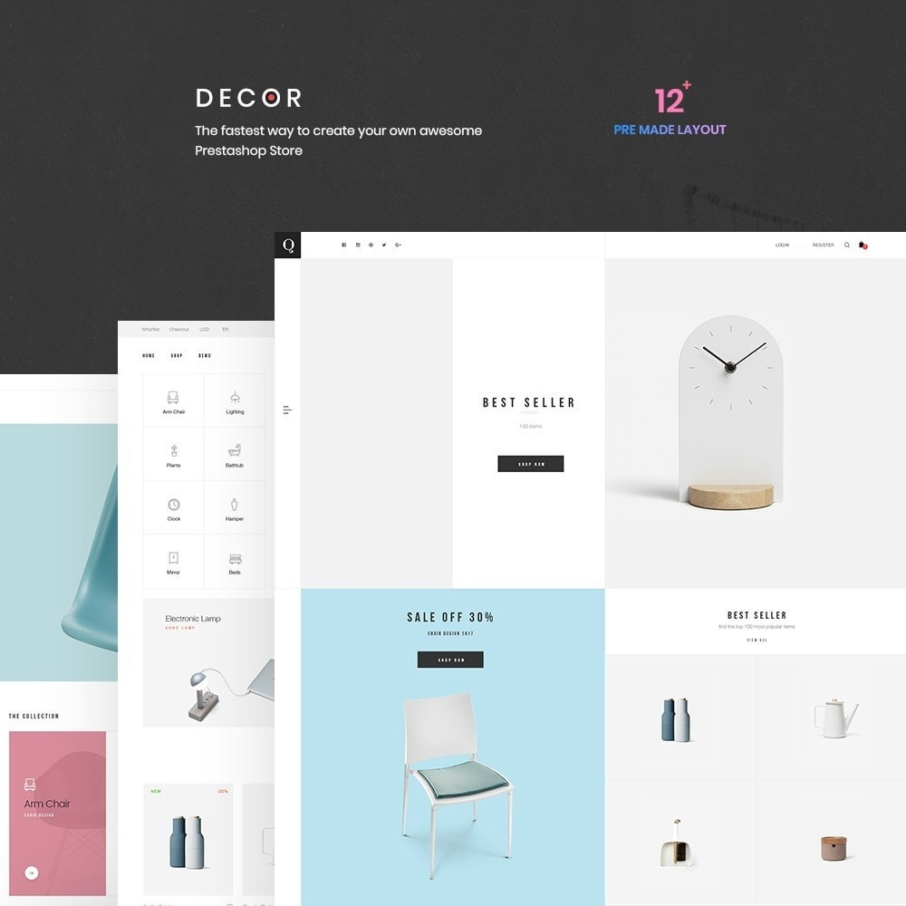 theme - Kunst & Kultur - Decor Store Responsive Multiple Prestashop Theme 1.7 - 2