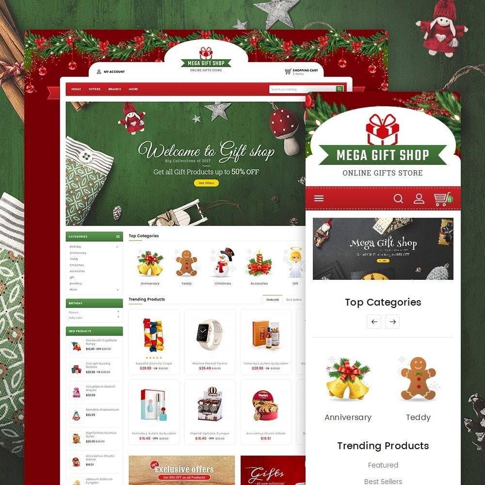 theme - Cadeaux, Fleurs et Fêtes - Mega Gift Shop - 1