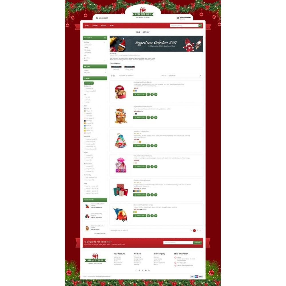 theme - Подарки, Цветы и праздничные товары - Mega Gift Shop - 4