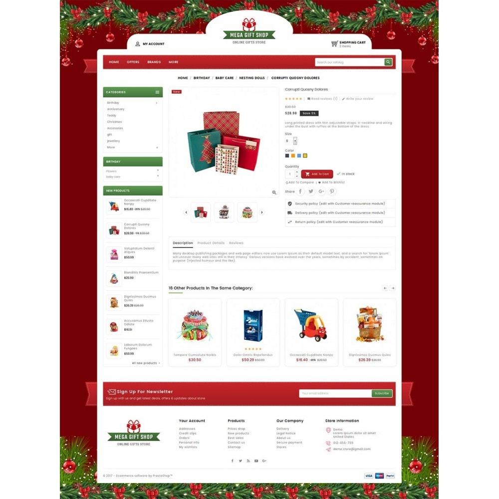 theme - Подарки, Цветы и праздничные товары - Mega Gift Shop - 5