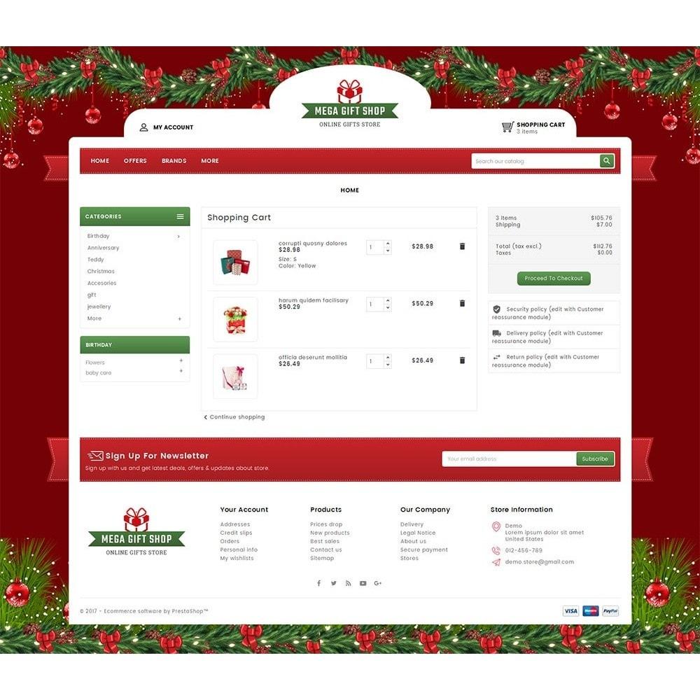 theme - Подарки, Цветы и праздничные товары - Mega Gift Shop - 6
