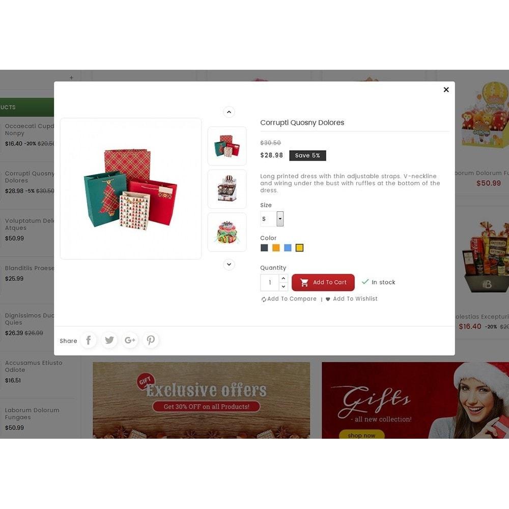 theme - Подарки, Цветы и праздничные товары - Mega Gift Shop - 7