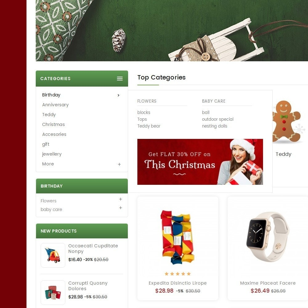 theme - Geschenke, Blumen & Feiern - Mega Gift Shop - 8