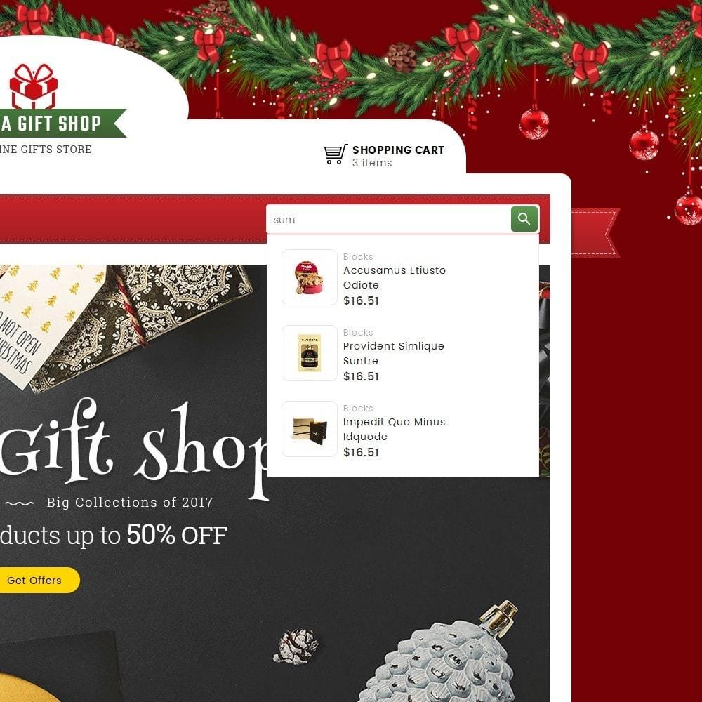 theme - Подарки, Цветы и праздничные товары - Mega Gift Shop - 9