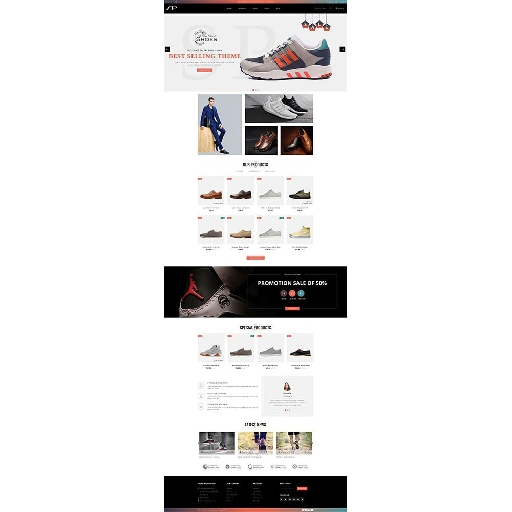 theme - Mode & Chaussures - ShoesPlay Shoes Shop - 2