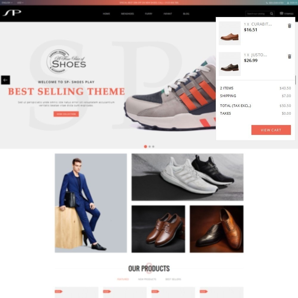 theme - Mode & Chaussures - ShoesPlay Shoes Shop - 7