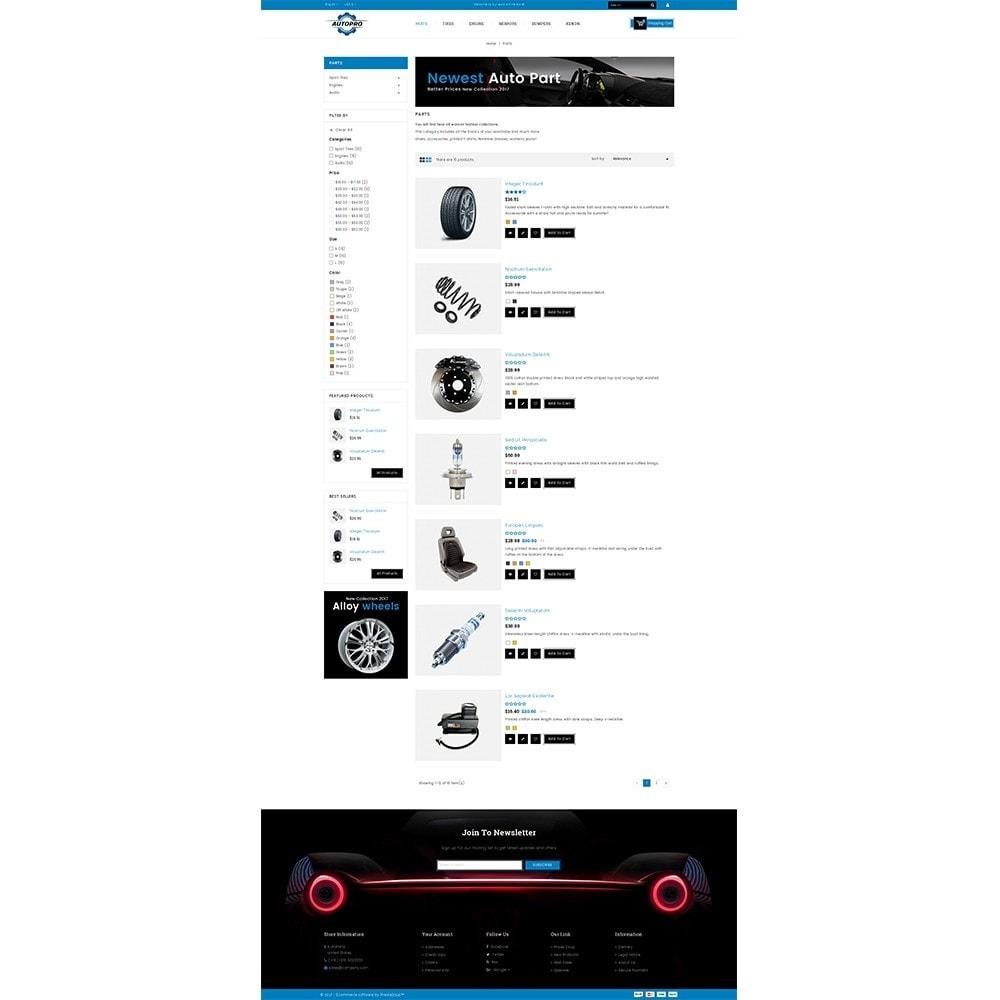theme - Automotive & Cars - Autopro Store - 4