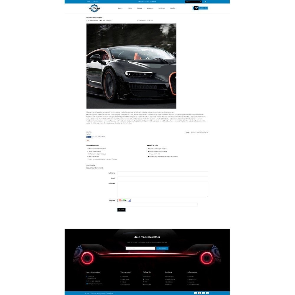 theme - Automotive & Cars - Autopro Store - 6