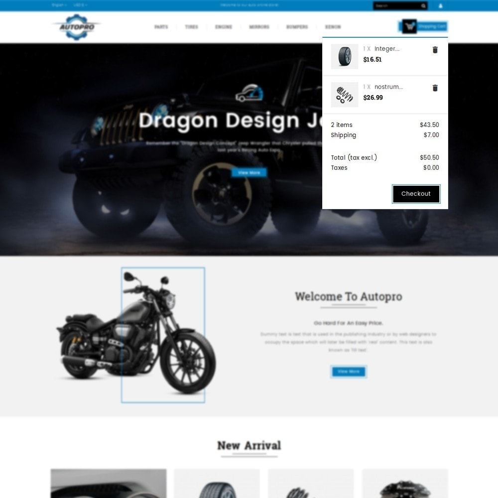 theme - Авто и Мото - Autopro Store - 8