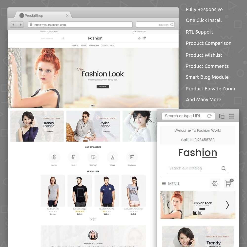 theme - Moda & Obuwie - Fashion Store - 1