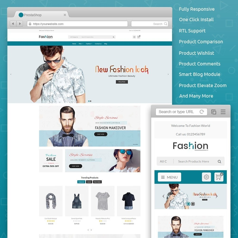 theme - Moda & Calzature - Fashion Store V2 - 1