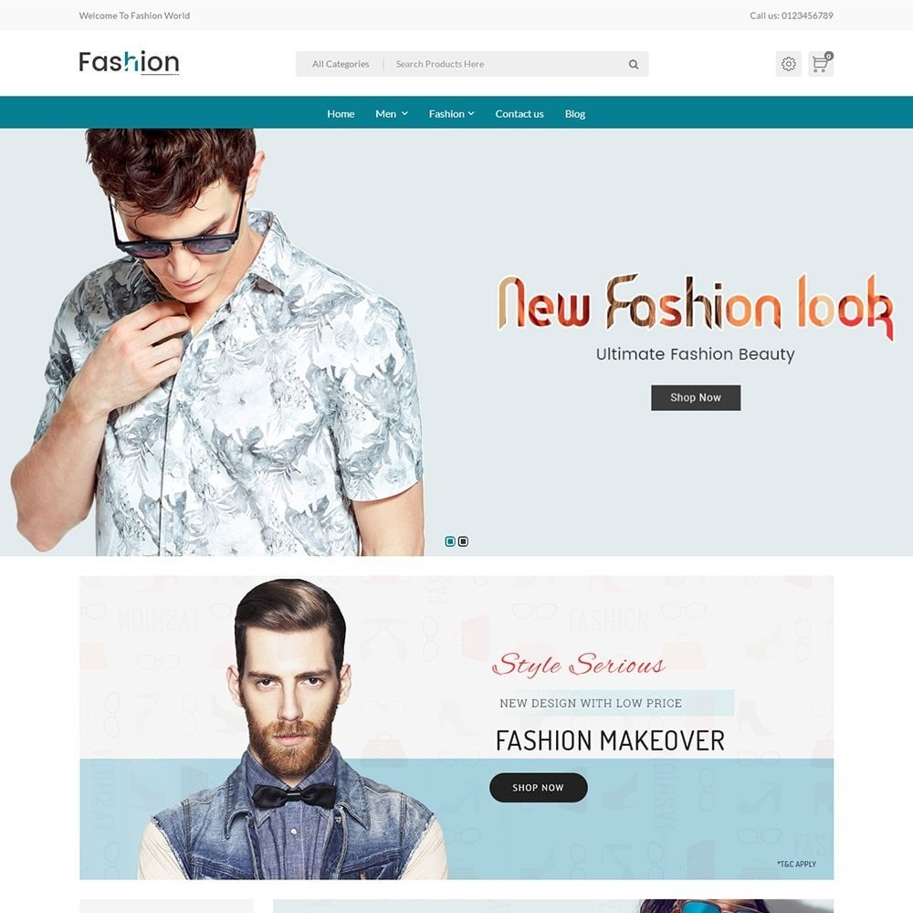 theme - Moda & Calzature - Fashion Store V2 - 2
