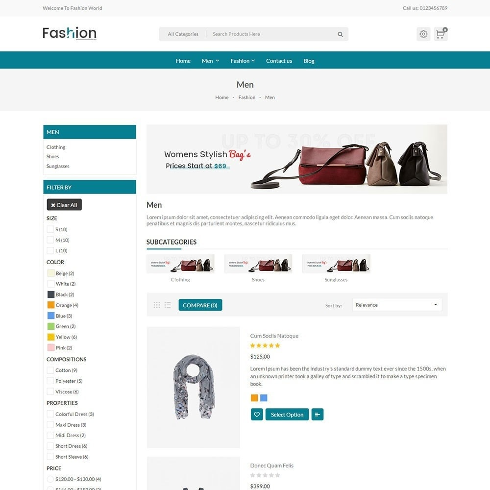 theme - Moda & Calzature - Fashion Store V2 - 3