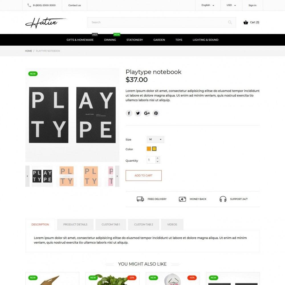 theme - Maison & Jardin - Hative - 7