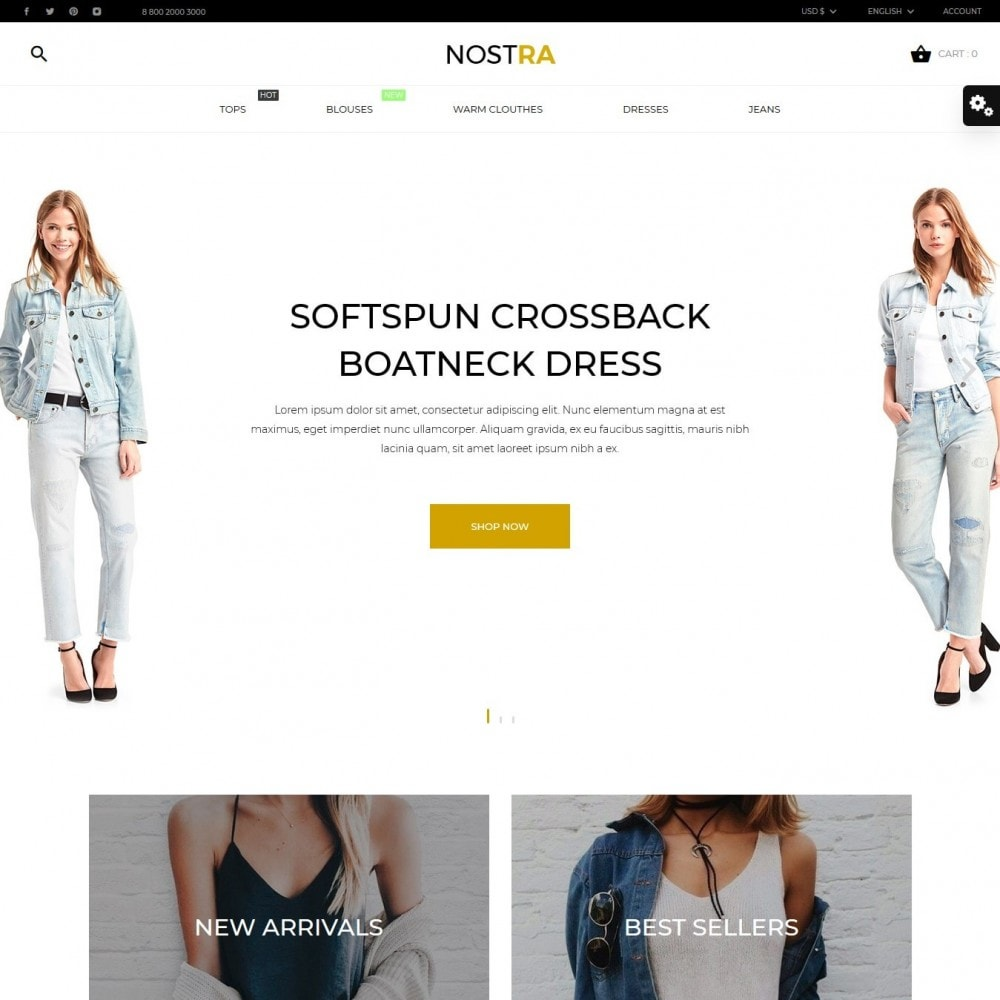 theme - Fashion & Shoes - Nostra Fashion Store - 2