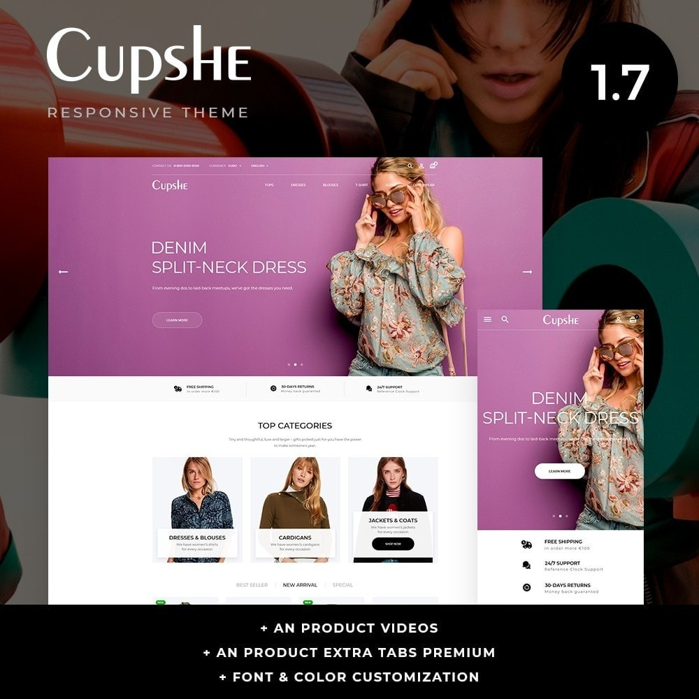 theme - Moda & Obuwie - Cupshe Fashion Store - 1