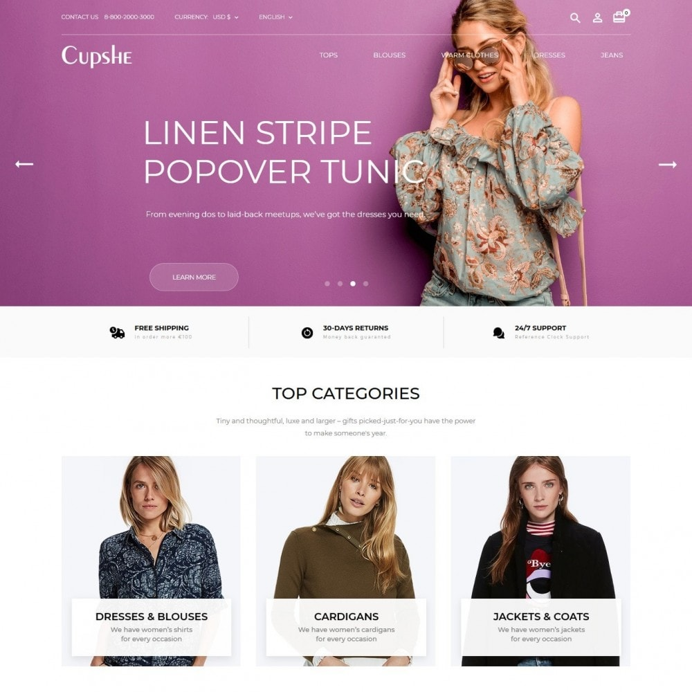 theme - Moda & Obuwie - Cupshe Fashion Store - 2