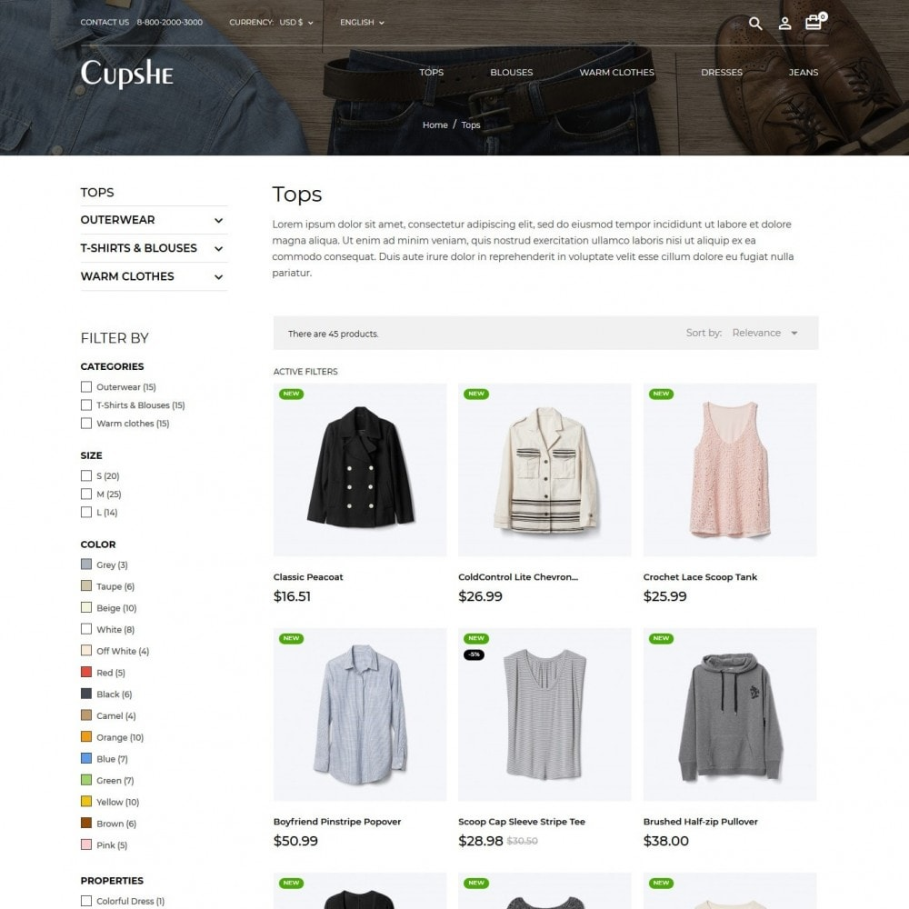 theme - Moda & Obuwie - Cupshe Fashion Store - 6