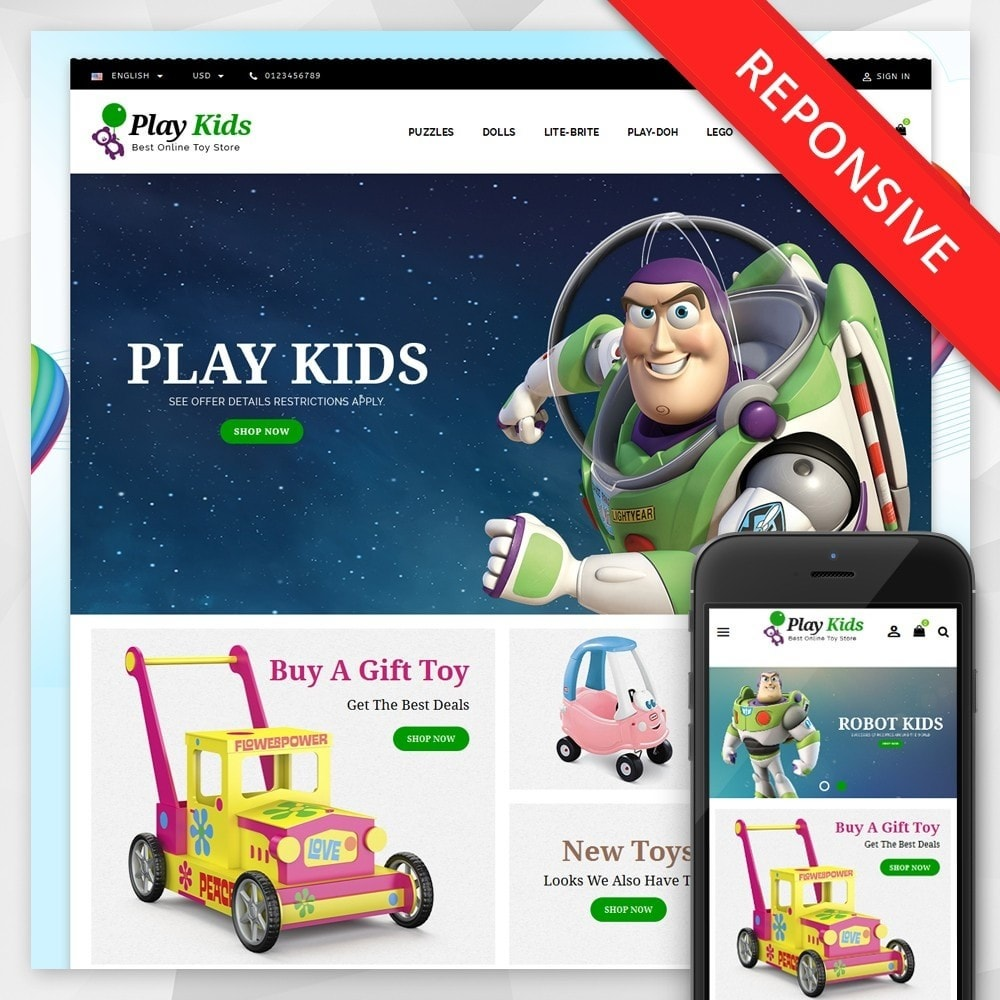 theme - Enfants & Jouets - Play Kids Store - 1