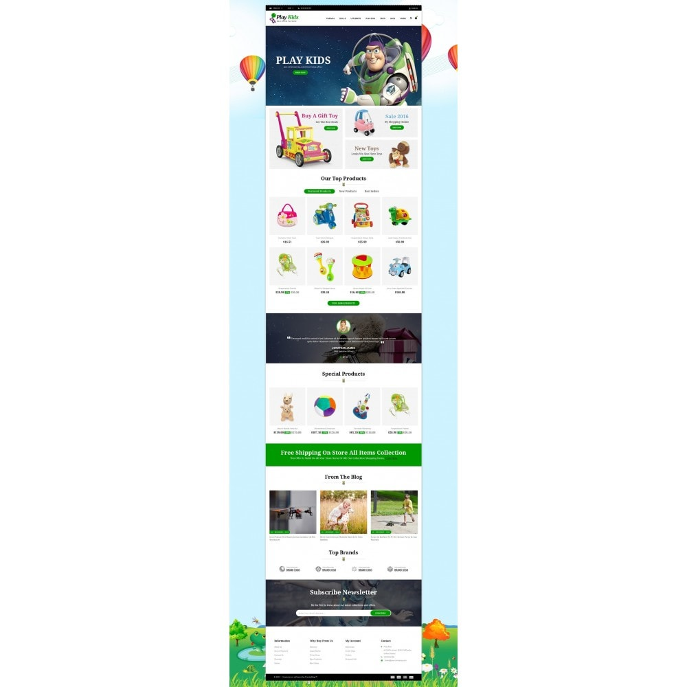 theme - Enfants & Jouets - Play Kids Store - 2