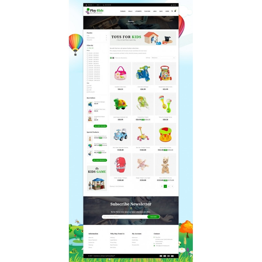 theme - Enfants & Jouets - Play Kids Store - 3