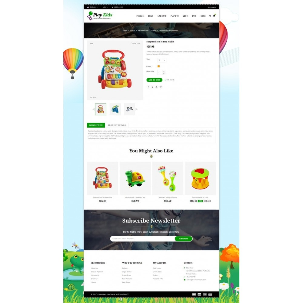 theme - Enfants & Jouets - Play Kids Store - 5