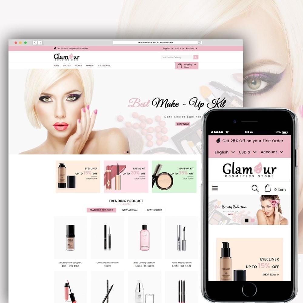 theme - Santé & Beauté - Glamour Cosmetics - 1