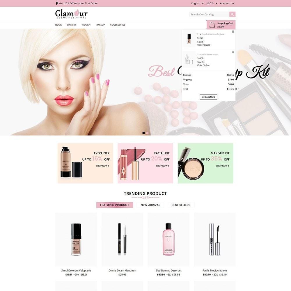 theme - Santé & Beauté - Glamour Cosmetics - 3