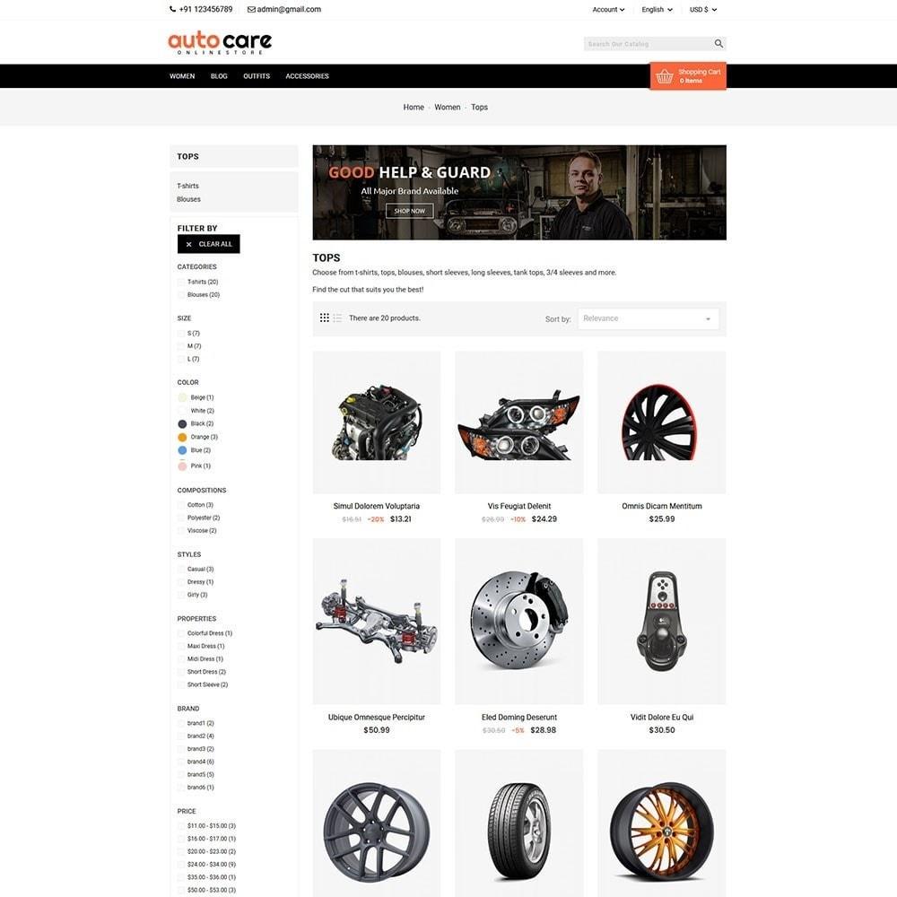 theme - Coches y Motos - Auto Care - 4