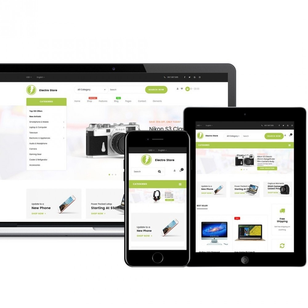 theme - Elettronica & High Tech - Digital Store - 3