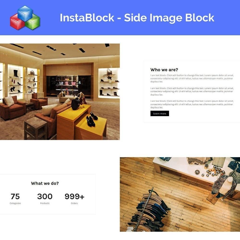 module - Personalisering van pagina's - InstaBlock - Easy custom blocks - 3