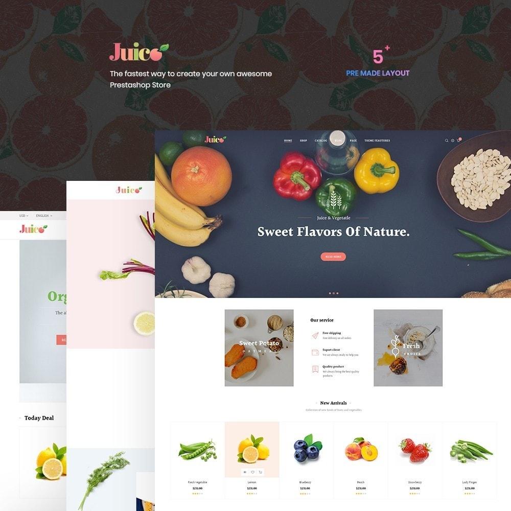 theme - Żywność & Restauracje - Leo Juice Store - 1