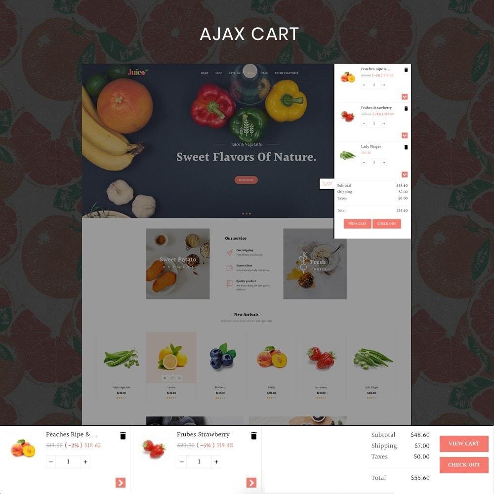 theme - Żywność & Restauracje - Leo Juice Store - 3