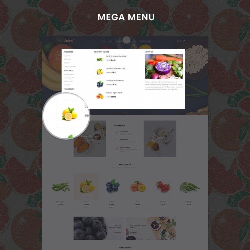 theme - Żywność & Restauracje - Leo Juice Store - 4