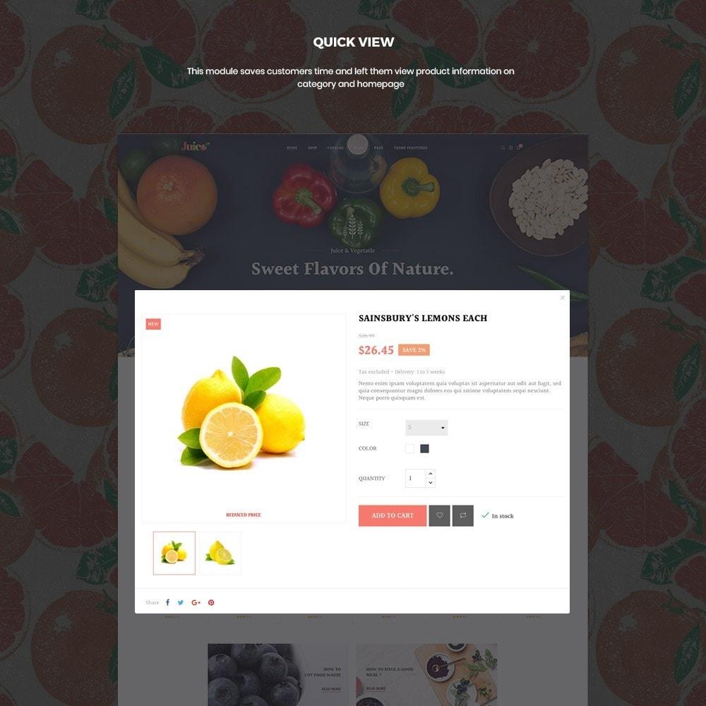 theme - Żywność & Restauracje - Leo Juice Store - 6