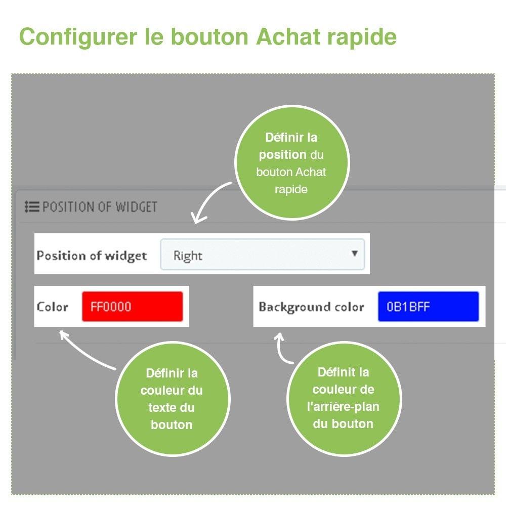module - Processus rapide de commande - Achat Rapide par Référence - 5