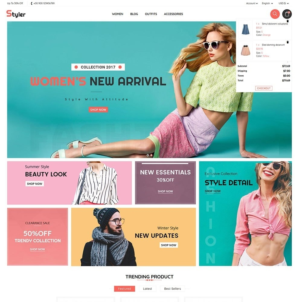 theme - Mode & Chaussures - Styler - 3