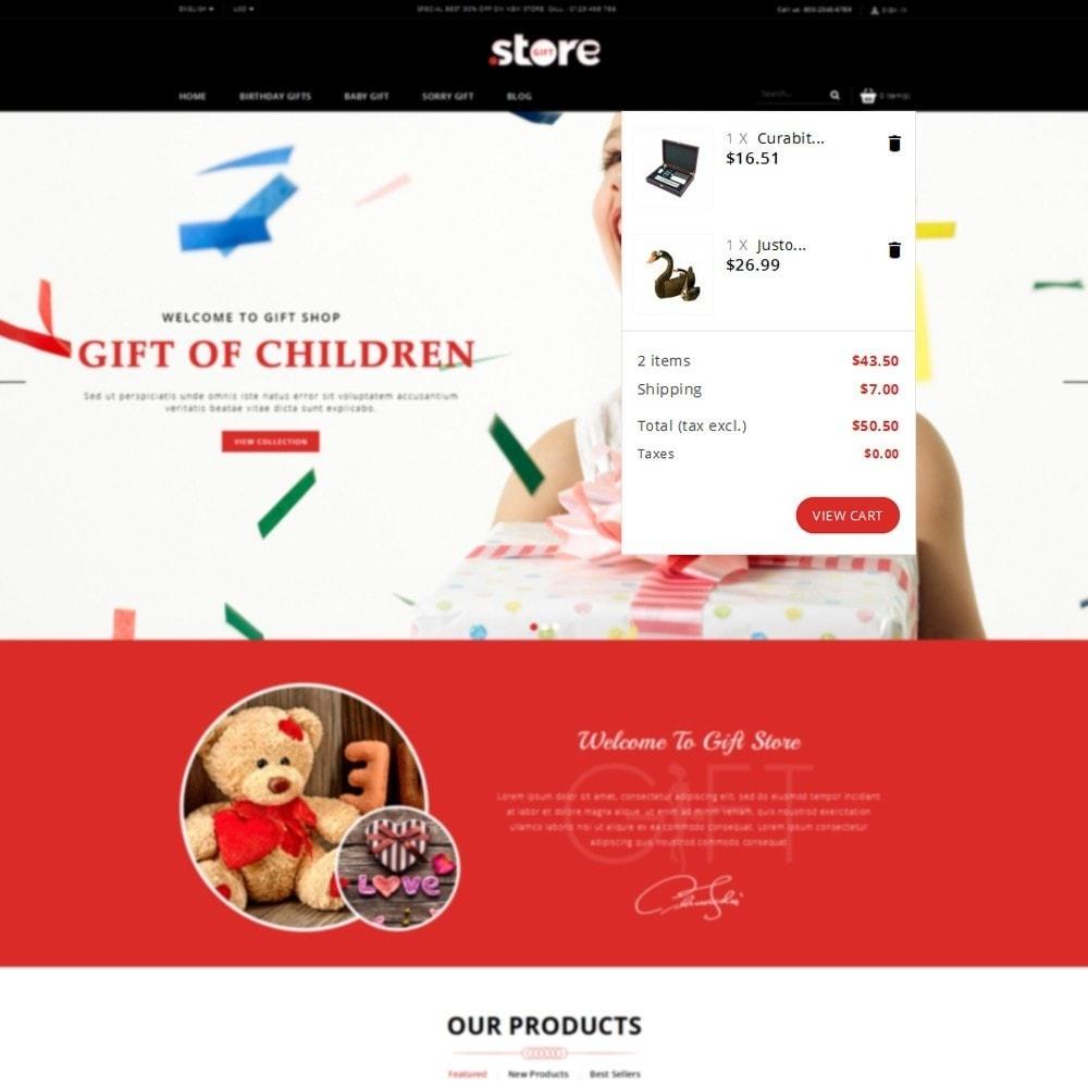 theme - Geschenke, Blumen & Feiern - Gift Store - 5
