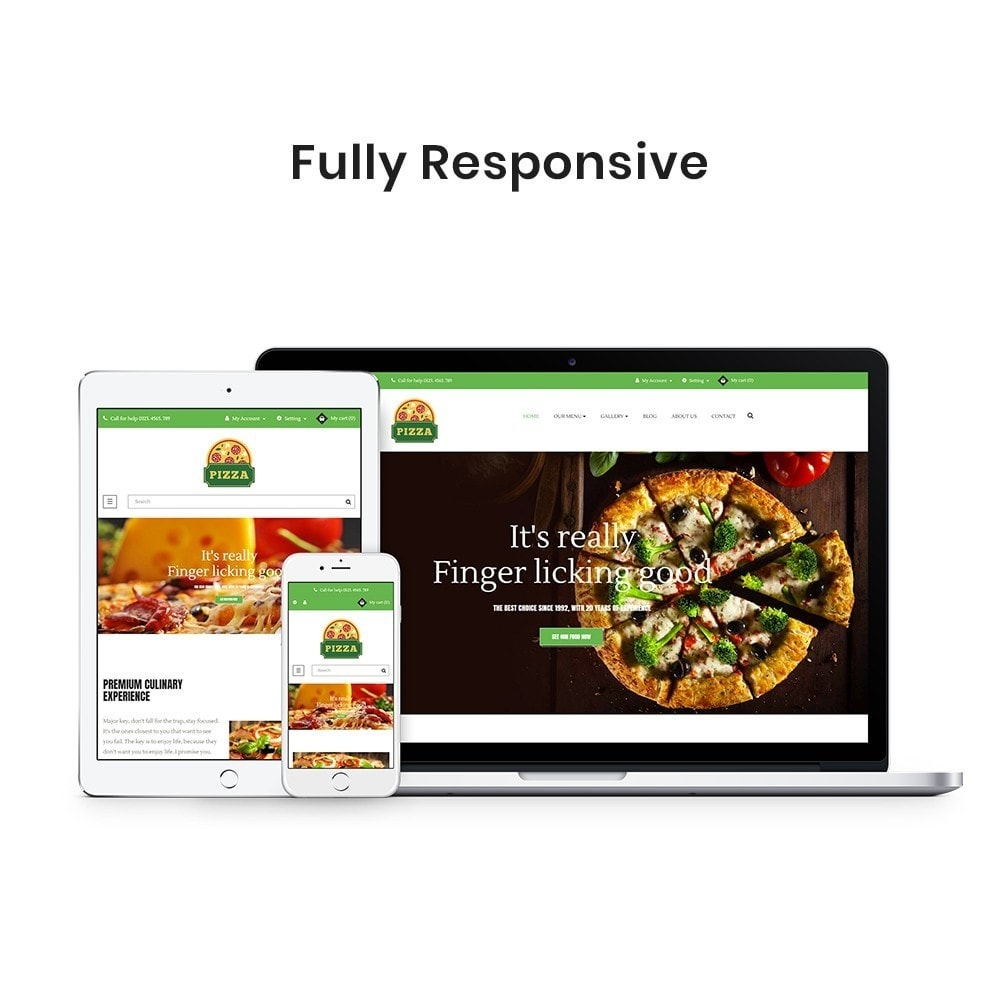 theme - Food & Restaurant - Ap Pizza - 1
