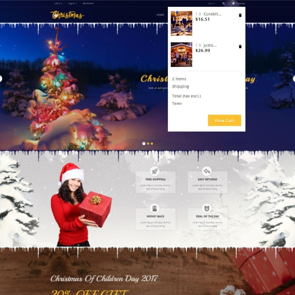 theme - Gifts, Flowers & Celebrations - Christmas Store - 7