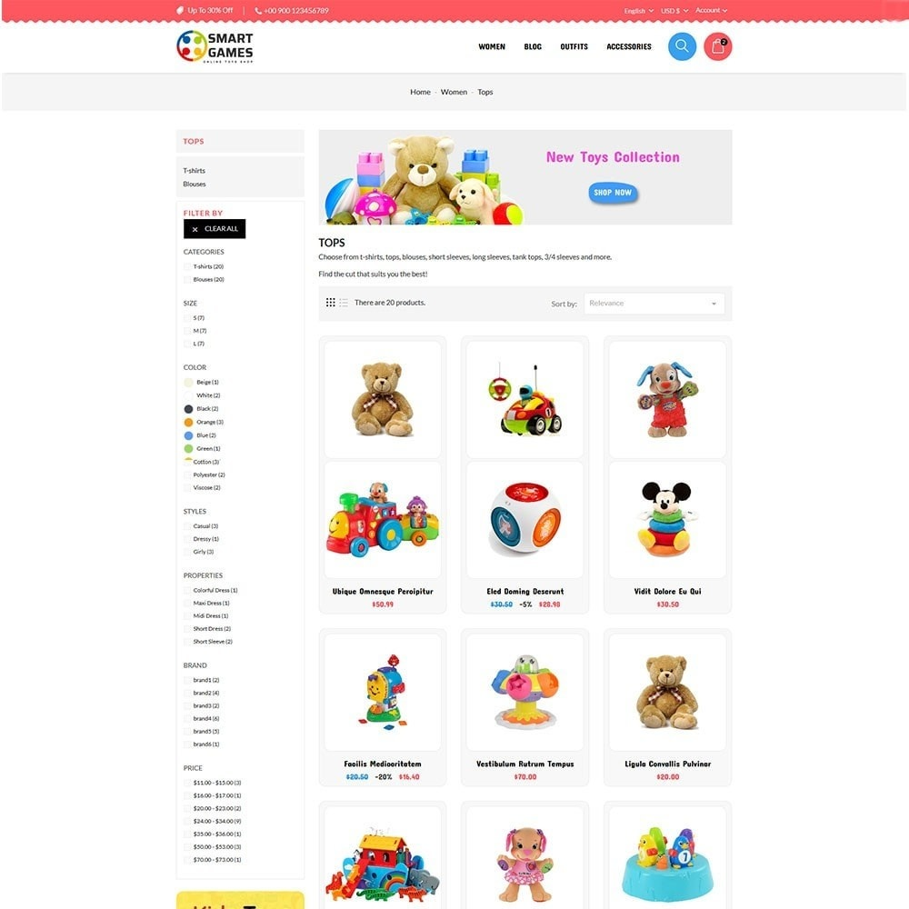theme - Kinderen & Speelgoed - Smart Games Toy Store - 4