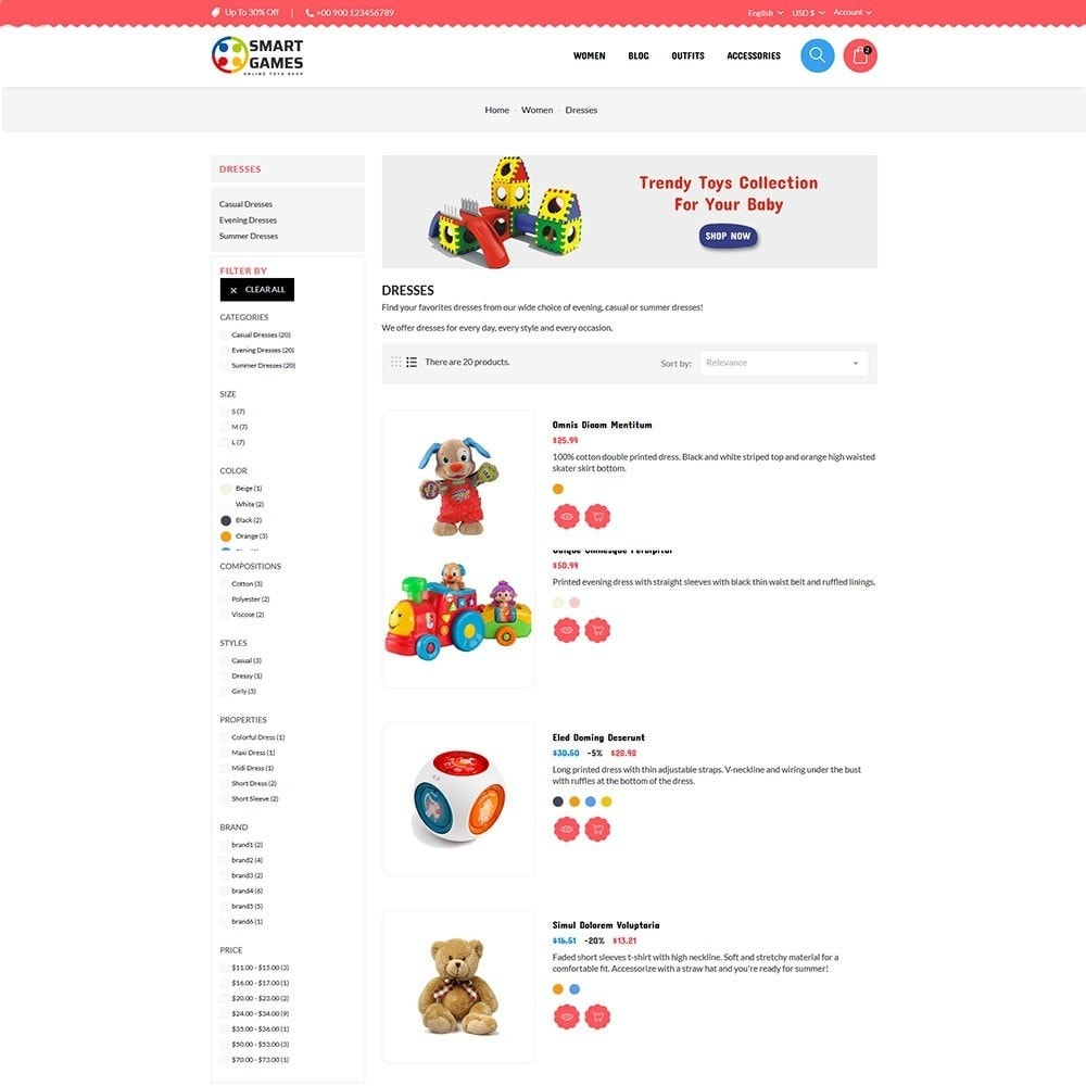 theme - Kinderen & Speelgoed - Smart Games Toy Store - 5
